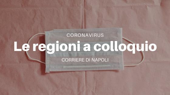 Coronavirus: le regioni a colloquio