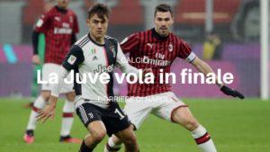 La Juventus vola in finale
