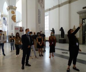la cultura riparte Museo archeologico Nazionale Napoli