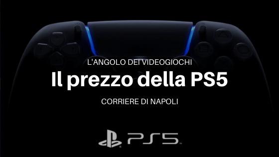 Tecnologia, L'angolo dei videogiochi: prezzo Playstation5