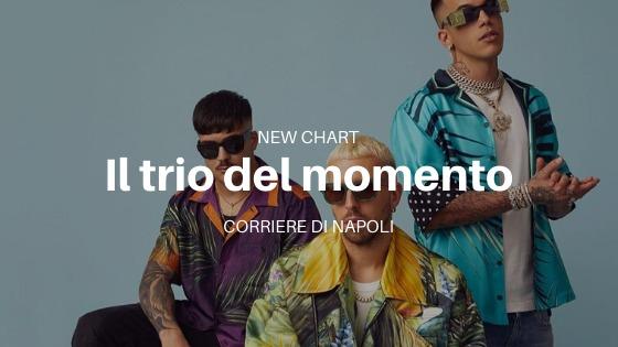 Musica, New Chart: Il Trio del momento