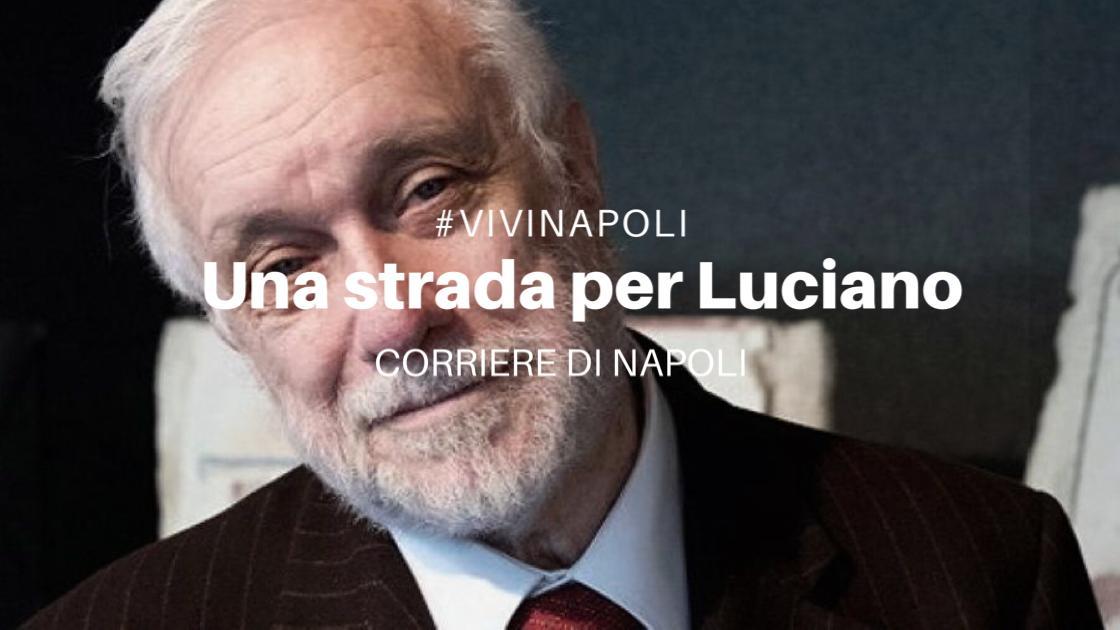Una strada per Luciano