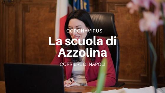 Coronavirus: le idee di Azzolina. Divisori a scuola e tanto altro