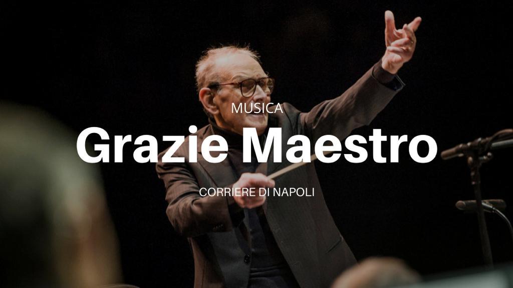 Grazie Maestro: Ennio Morricone