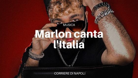 """Marlon balla con """"Italia"""""""