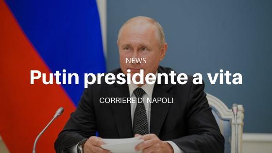 Vladimir Putin presidente a vita: altri due mandati per lo zar