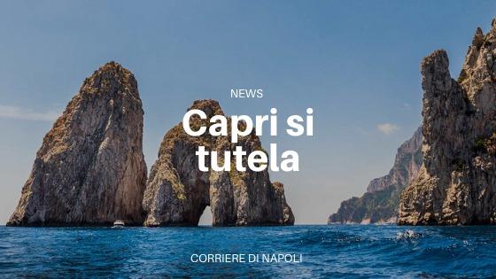 Mascherine obbligatorie per scongiurare il lockdown a Capri