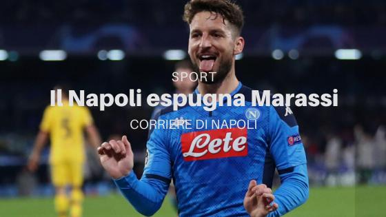 Il Napoli espugna Marassi