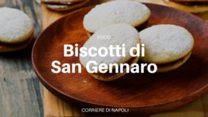 ricetta biscotti di san gennaro