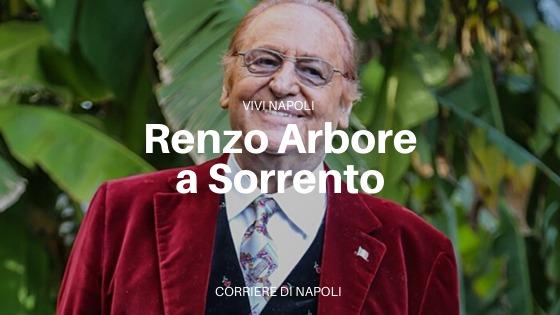 Renzo Arbore e Scabec: magia a Sorrento