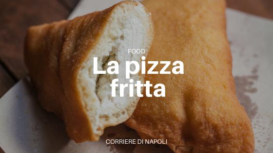 """La pizza fritta: """"Qua se mangia e nun se paga"""""""