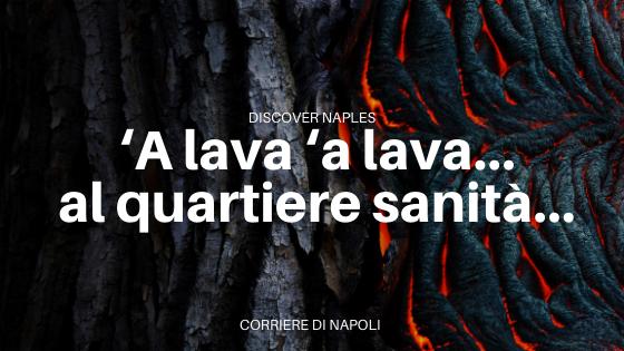 La lava dei Vergini: natura e leggenda