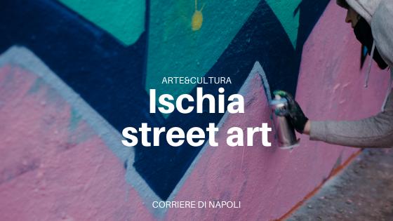 """Ischia street art: """"Social distancing"""""""