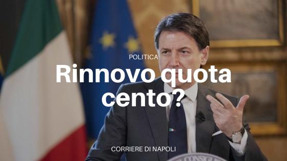 """Giuseppe Conte: """"Non rinnoveremo quota 100"""""""