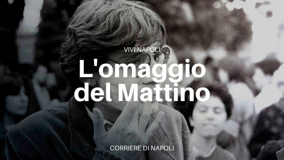 L'omaggio del Mattino a Giancarlo Siani