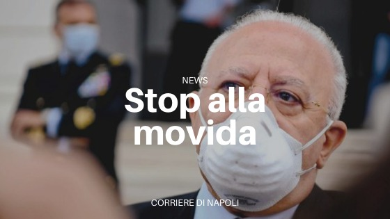 Campania, nuova ordinanza di De Luca