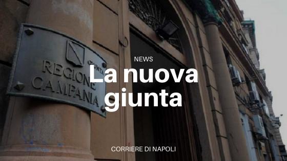 Regione Campania: nominata la giunta da De Luca