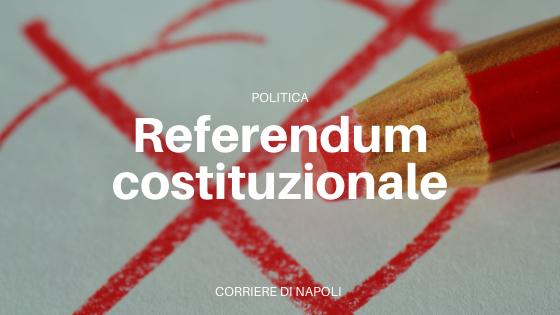 Referendum costituzionale: qualche riflessione