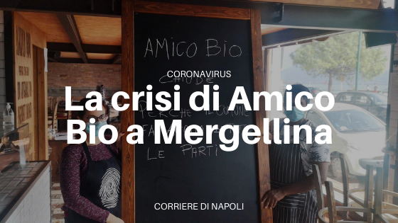 Comune di Napoli chiude Amico Bio Mergellina