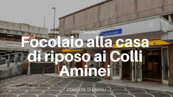 Colli Aminei: lo strano focolaio alla casa di riposo