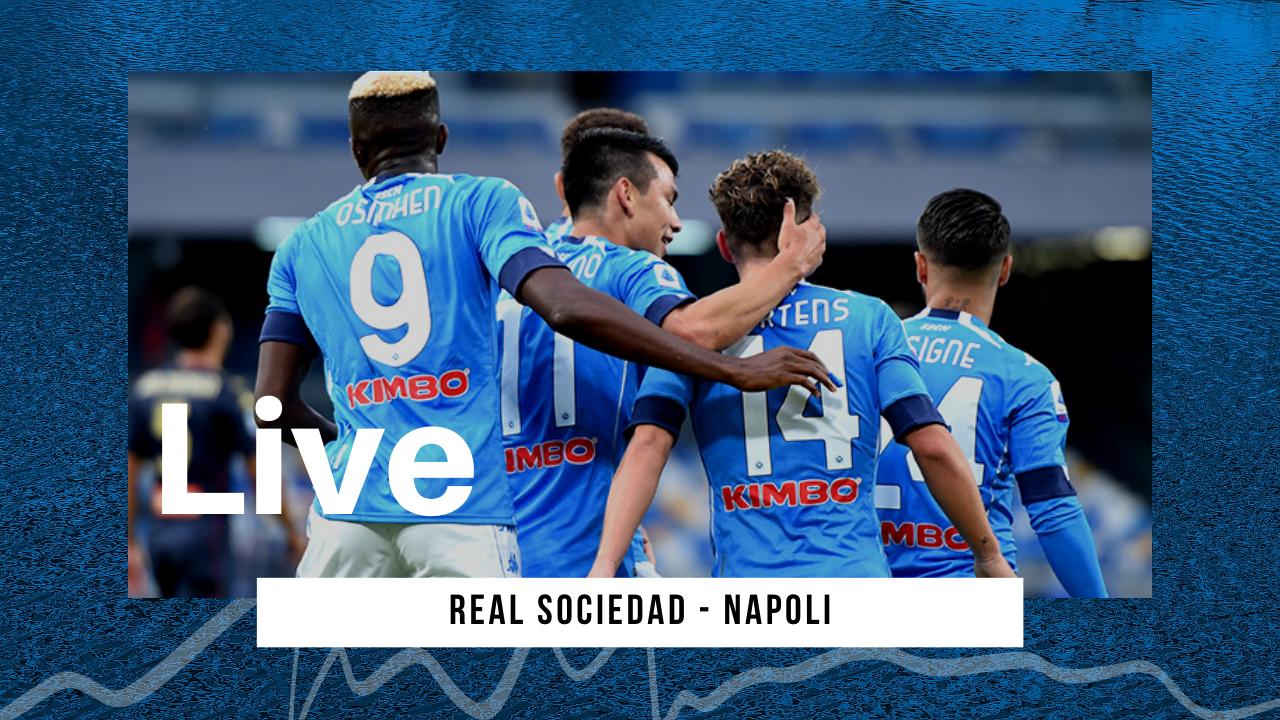 LIVE Real Sociedad-Napoli 0-1 Europa League: i partenopei vincono al termine dei 90 minuti