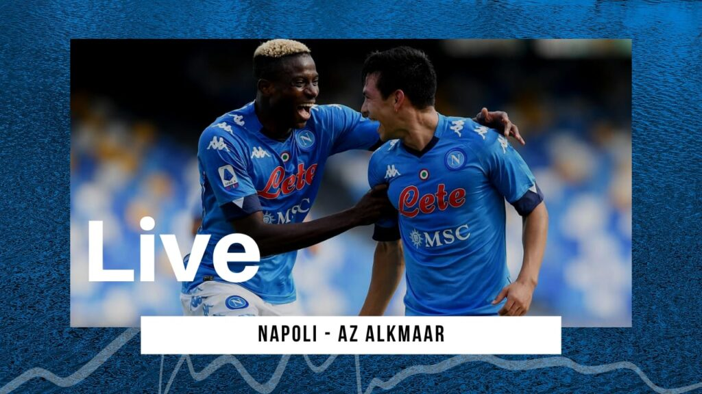 LIVE Napoli-AZ Alkmaar