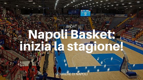 Napoli Basket, inizia la stagione: c'è la Supercoppa