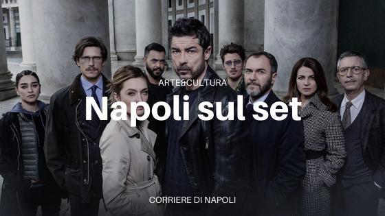 Napoli sul set: tornano i Bastardi di Pizzofalcone