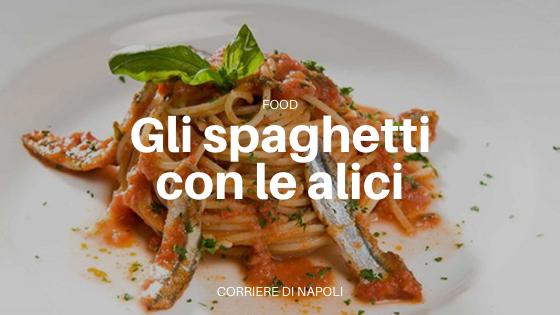 Spaghetti con le alici, così celebriamo il World Pasta Day