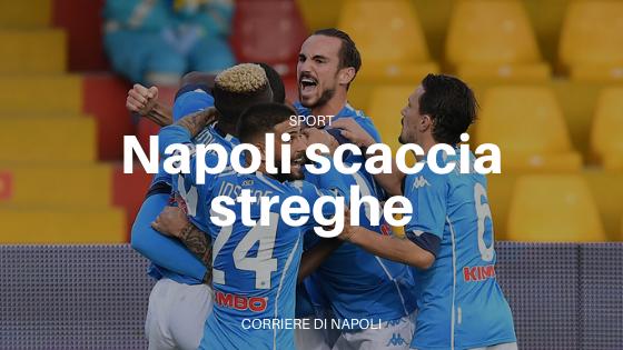 Il Napoli scaccia le streghe in vista dell'Europa League