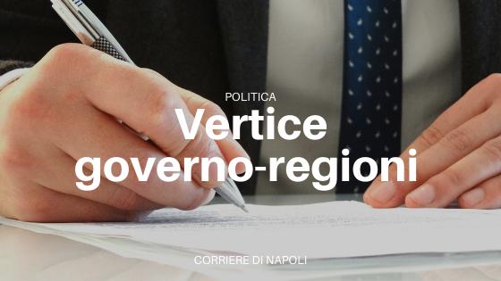 Concluso vertice Governo-Regioni per il nuovo DPCM