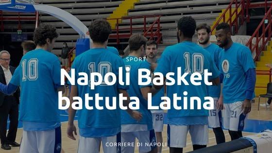 Il Napoli Basket stravince con Latina nel ricordo di Diego