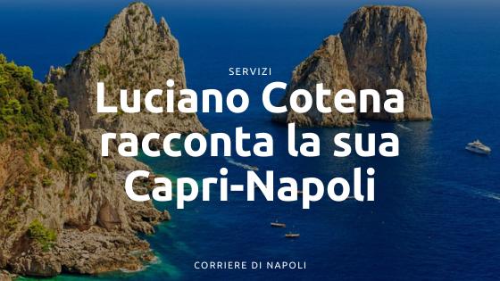 """Luciano Cotena racconta la Capri-Napoli: """"70 anni di Storia: un onore l'Hall of Fame"""""""