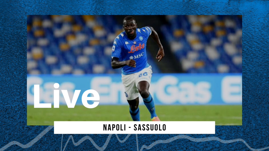 LIVE Napoli-Sassuolo