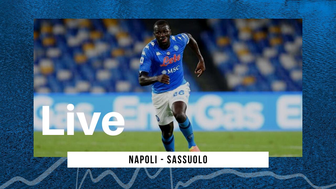 LIVE Napoli-Sassuolo Serie A 2020/21: finisce 0-2 per i neroverdi