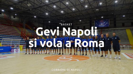 Inizia il campionato: la Gevi Napoli vola a Roma!