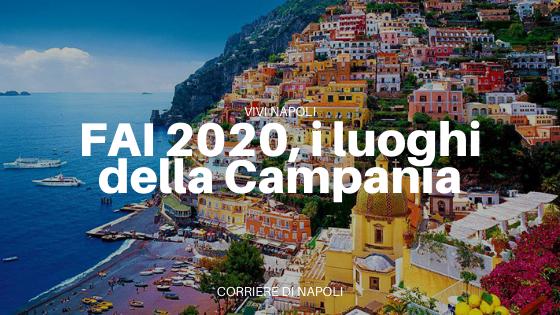 Censimento FAI 2020: i meravigliosi luoghi della Campania