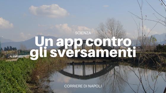 Nasce l'app contro gli sversamenti nel Sarno