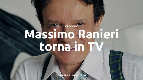 Massimo Ranieri torna in tv su Rai 3