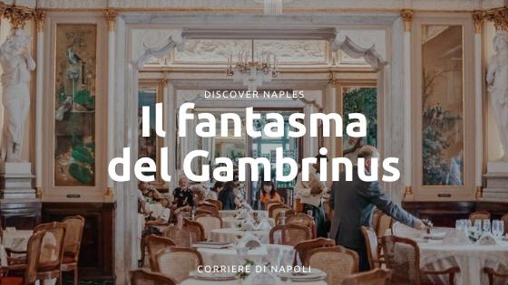 Un fantasma goloso al Caffè Gambrinus