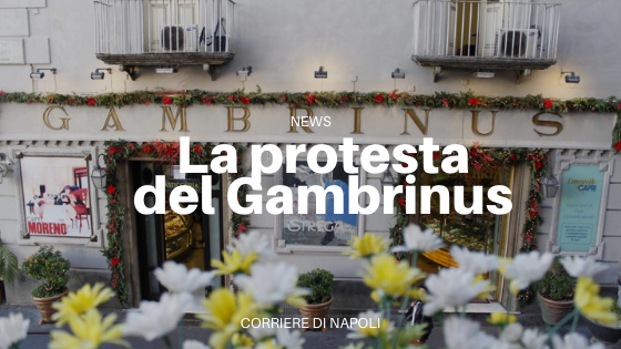 Chiude il caffè Gambrinus