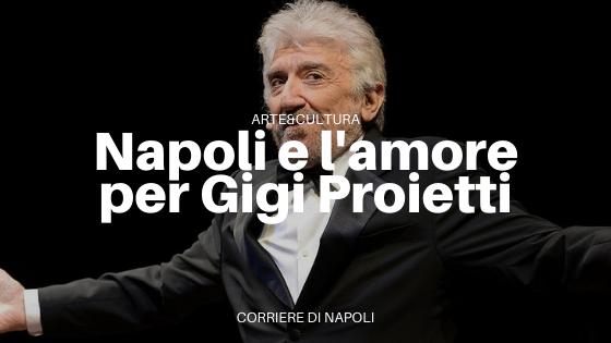 """Addio a Gigi Proietti, leggendario e """"napoletanofilo"""""""