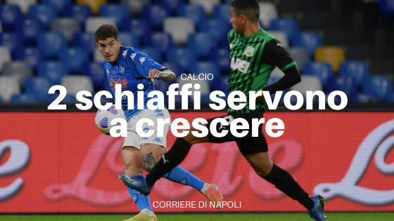 Il Napoli va in Croazia dopo due schiaffi dal Sassuolo