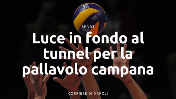 Pallavolo Campania: si vede la luce in fondo al tunnel