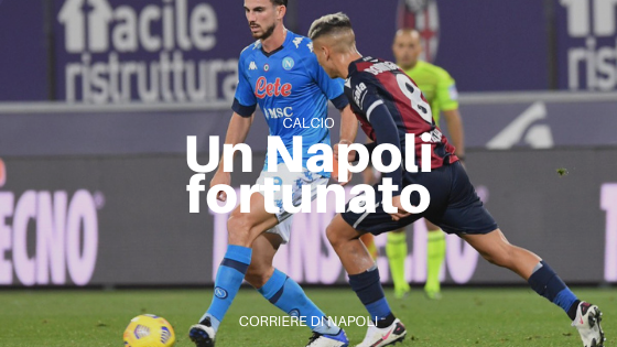Il Napoli passa a Bologna: pizza batte tortellino