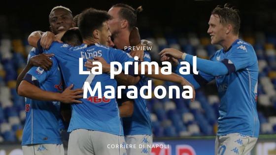 Napoli-Sampdoria Preview : la prima al Maradona