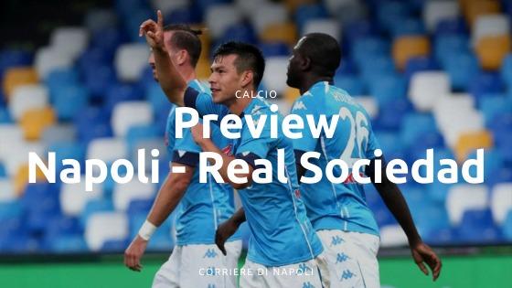 Preview Napoli-Real Sociedad: alla conquista dell'Europa