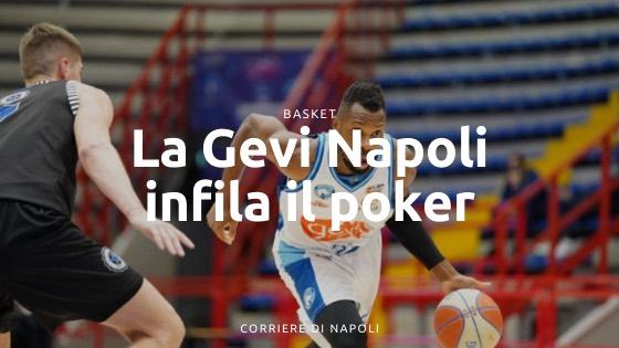 La Gevi Napoli infila il poker
