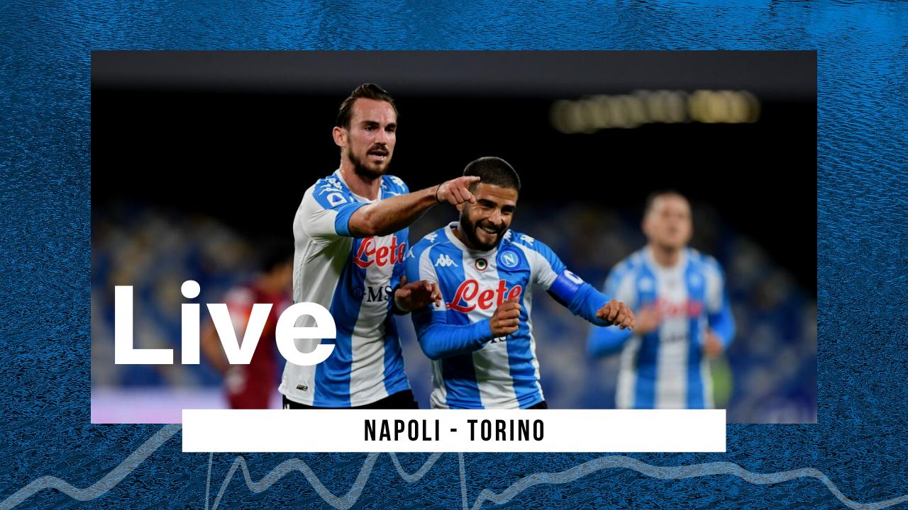LIVE Napoli-Torino 1-1 Serie A 2020\2021: azzurri che concludono con un pareggio il 2020
