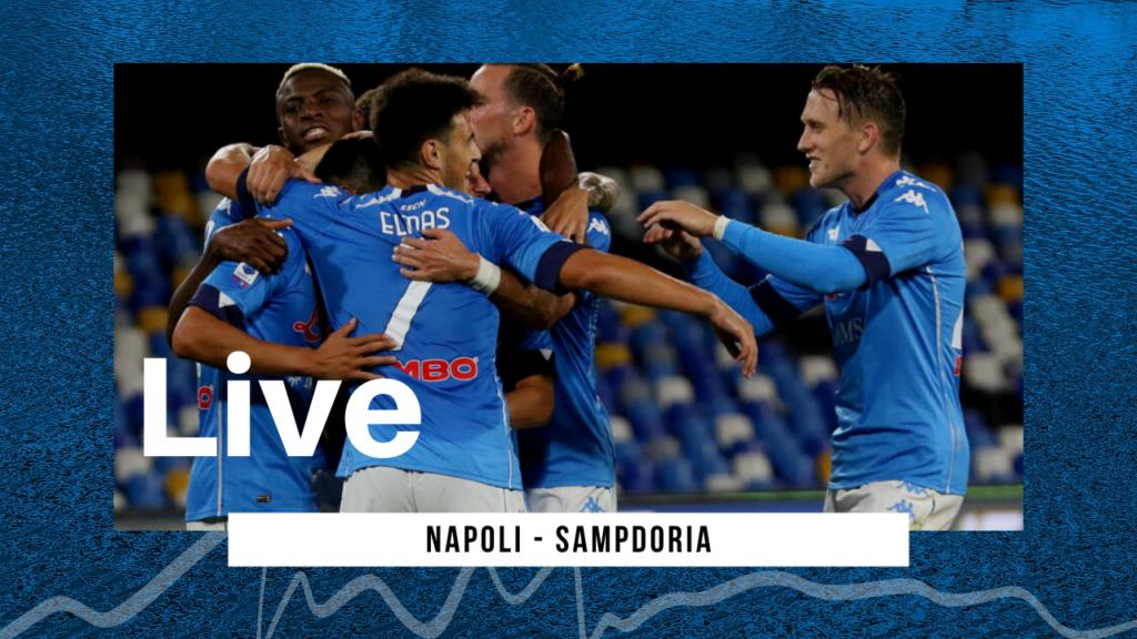 LIVE Napoli-Sampdoria